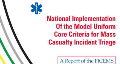 National Implementation Plan for Standardizing Mass Casualty Triage
